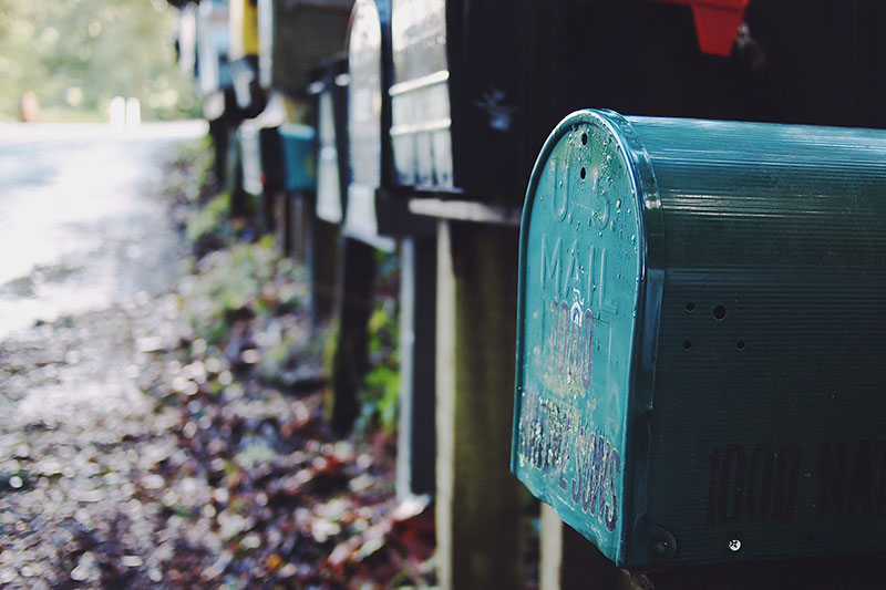 Collecting emails from your website