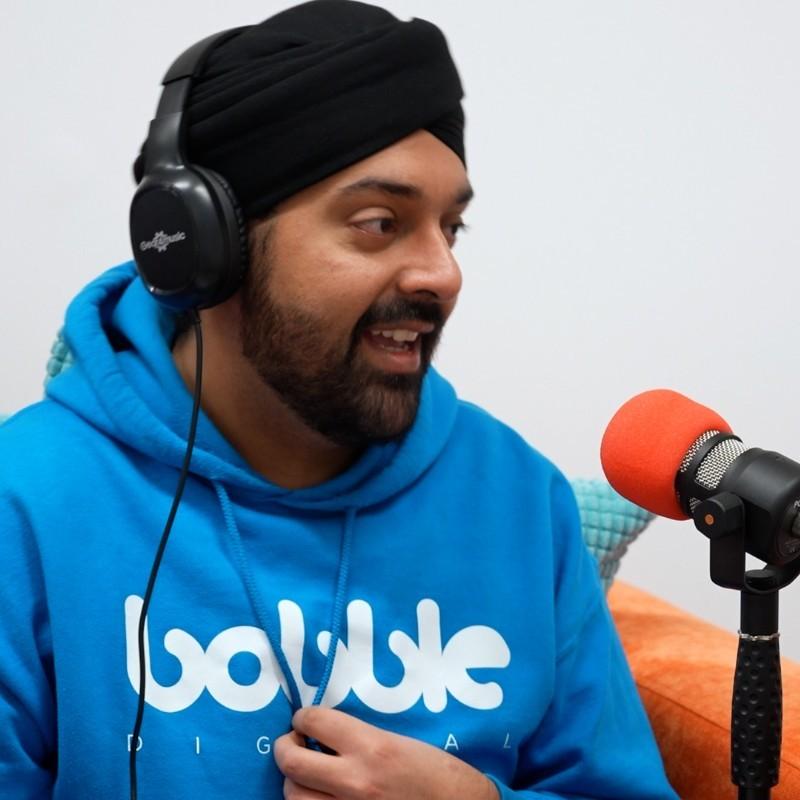 Manpreet Singh from Bobble Digital